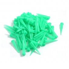 Műanyag Adagolótű - 18G - Zöld (10db/csomag)