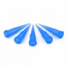 Műanyag Adagolótű - 22G - Kék (10db/csomag)
