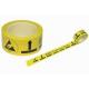 """Sárga padlójelölő szalag """"ESD protected area"""" felirattal - 50mm x 66m x 0,08mm"""
