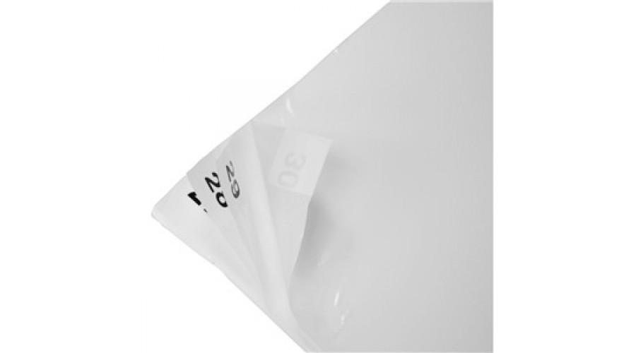 """Fehér Öntapadós Lábtörlő, Sticky mat, 30 rétegű, 24""""x36"""" (~ 600x900mm)"""