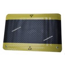 ESD Álláskönnyítő szőnyeg 600x900mm, sárga/fekete