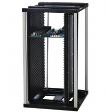 ESD Magazin Rack, Műanyag, Csavaros, 355x315x580 mm, 80°C (301A)