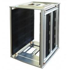 ESD Magazin Rack, Fém, Fogaskerekes, 460x400x563 mm, 120°C (301CG)