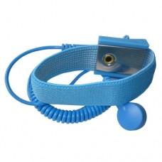 ESD Kék Csuklópánt - 10mm-10mm-es Patenttel