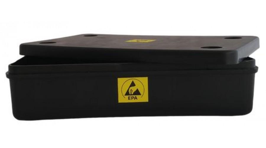ESD Tároló Fedéllel - 190x110x41mm