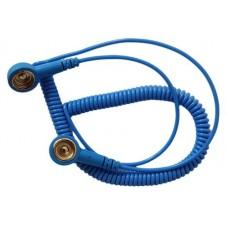 Kék Csuklópántvezeték - 1.8m (10mm - 10mm anyapatent)