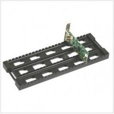 ESD PCB Rack, PCB tartó, Lapos alakú, Fekete, 437x160x30mm