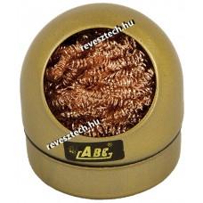 Pákahegytisztító Fémforgács - Arany színű tartóban