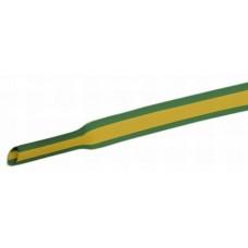 Zsugorcső - Zöld / Sárga - 1,0 / 0,5 mm (Kiszerelés 1m)