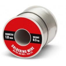 Forrasztó ón - Ólmos - Ø 1mm, 0,5kg