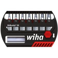 Wiha bit készlet Torx (T10-T40), 8db-os, bit toldóval BitBuddy  (7945-505)