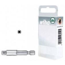 Wiha bit adapter / váltó műanyag dobozzal, E 6.3 (7240)
