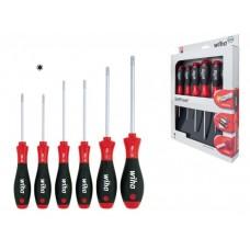 Wiha SoftFinish® TORX® MagicSpring® Csavarhúzó készlet, 6db-os (362RK6SO)