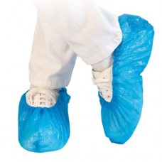 Kék Cipővédő / Lábzsák - Manuálisan vehető fel - 40 mikron (100db/csomag)