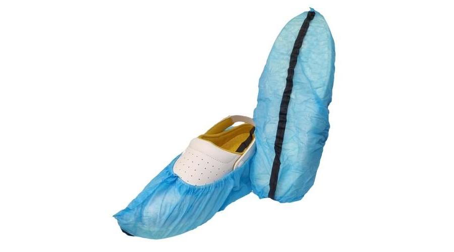 ESD-PPB - ESD szöszmentes kék cipővédő földelőcsíkkal - C-S és C-C adagolóhoz (100db/csomag)
