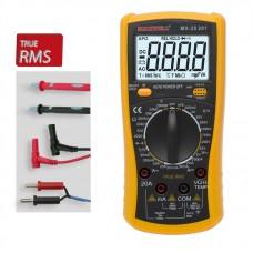 Maxwell Általános Digitális Multiméter, hőmérséklet- és kapacitásmérő (TRUE RMS) - 25201
