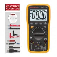 Maxwell Digitális Multiméter, 5az 1-ben, USB-s PC kapcsolat - 25328 - Utolsó darab!