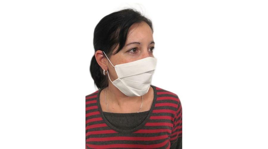 Többször használatos 2 rétegű szájmaszk